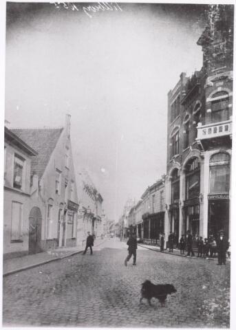 021768 - Heuvelstraat gezien bvanuit de richting Oude Markt omstreeks 1900