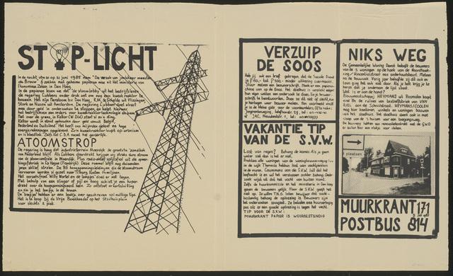 668_1985_171 - Muurkrant: Stop Licht