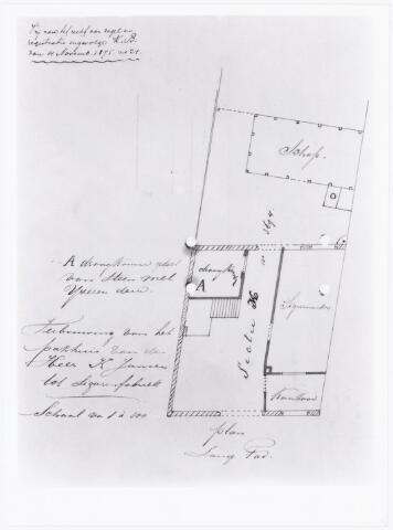 039489 - Sigarenindustrie. Aanvraag hinderwetvergunning door Karel Janssen voor een sigarendrogerij aan de Langepad.