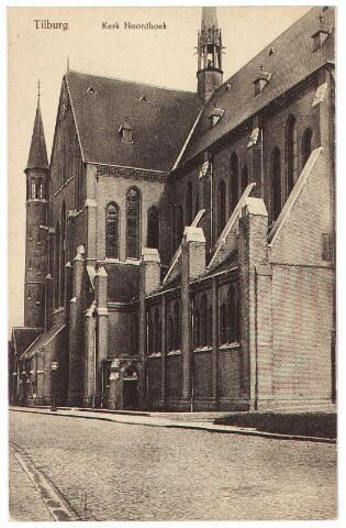 000660 - Industriestraat, later Hart v. Brabantlaan, kerk H. Hart (Noordhoek)