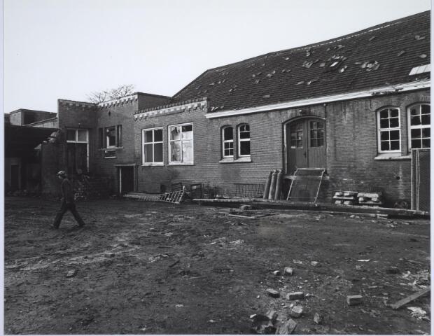 025501 - Pand van de voormalige wijnhandel Verbunt aan de Langestraat ten tijde van de sloop begin 1978