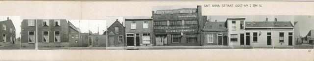1625_0260 - Fotostrook; straatwand; panden aan de linten en hoofdverbindingswegen in het centrum van de stad; oost