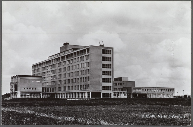 010607 - Gezondheidszorg. Ziekenhuizen. Mariaziekenhuis aan de Dr. Deelenlaan.