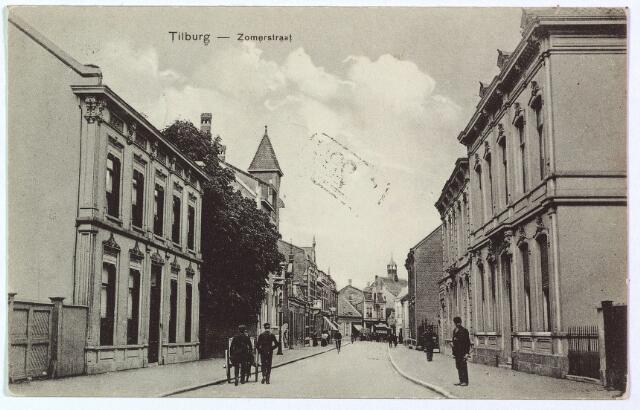 003061 - Zomerstraat tussen St. Annaplein, nu Lieve Vrouweplein en de kruising met de Bredaseweg.