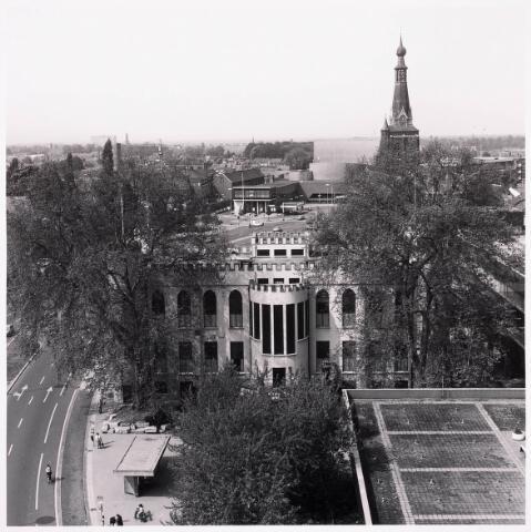 """036456 - Panorama van Tilburg vanaf de """" Katterug """"."""