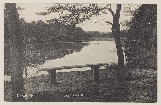075197 - Serie ansichten over de Oisterwijkse Vennen.  Ven: Van Essenven. (Van Escheven)