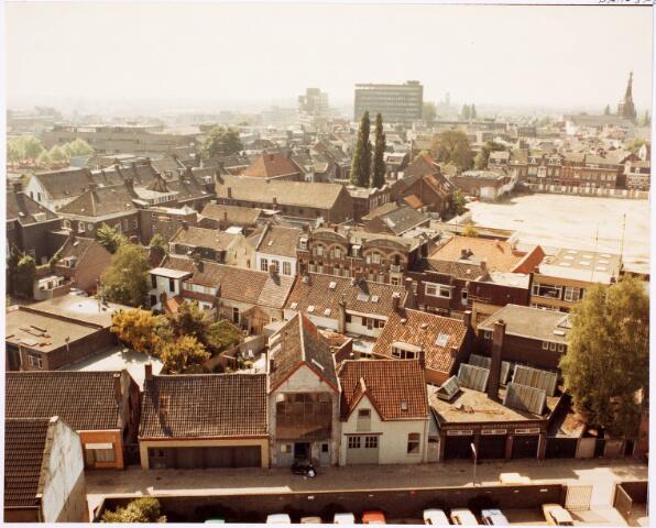 036655 - Panorama van Tilburg vanaf de flat aan de Spoorlaan 392