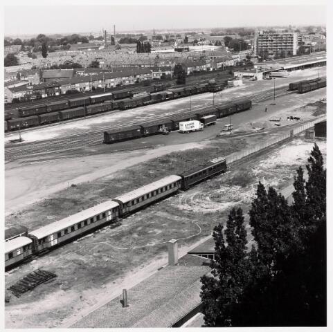 036343 - Panorama van Tilburg vanaf de flat aan de Hazelaarstraat