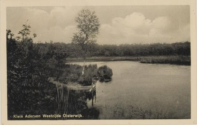 075080 - Serie ansichten over de Oisterwijkse Vennen.  Ven: Klein Aderven.