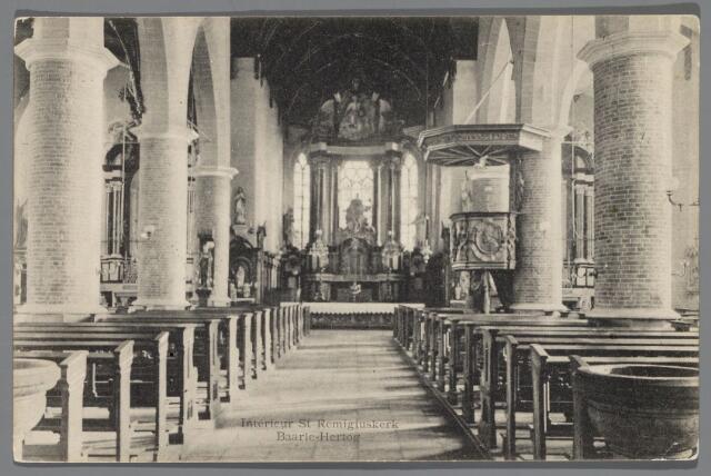 065632 - Interieur van de Rooms Katholieke kerk van Baarle Hertog St. Remigius aan het Kerkplein