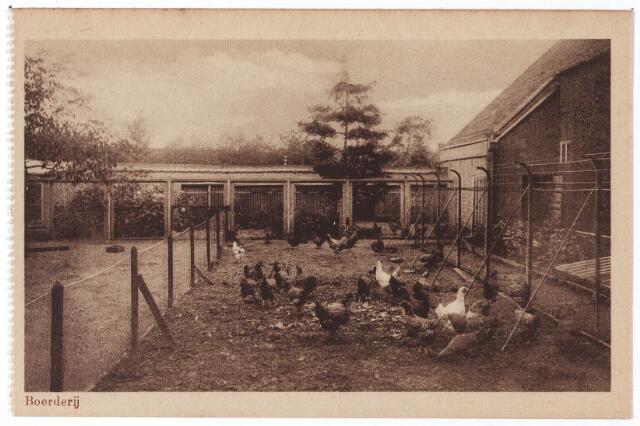 001765 - Oude Dijk, kippenren van de boerderij van het moederhuis van de zusters van liefde..