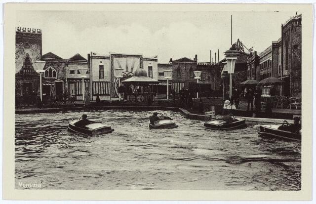 003338 - Attractieterrein Venezia op de Internationale Tentoonstelling Stad Tilburg 1934.