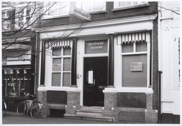 027722 - Apotheek Bijvoet. Oude Markt 8. Monument.