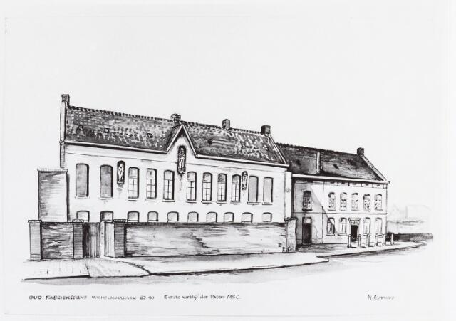 034863 - 100 jaar Missionarissen van  het H. Hart. Het eerste verblijf aan de Veldhoven, thans Wilhelminapark.Door H.Corvers.