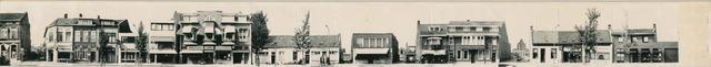 1625_0279 - Fotostrook; straatwand; panden aan de linten en hoofdverbindingswegen in het centrum van de stad;
