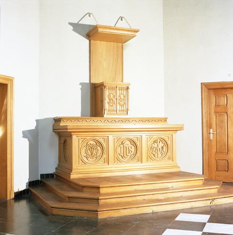 D-00480 - TBV - Clarissenhof, interieur kapel Clarissenklooster