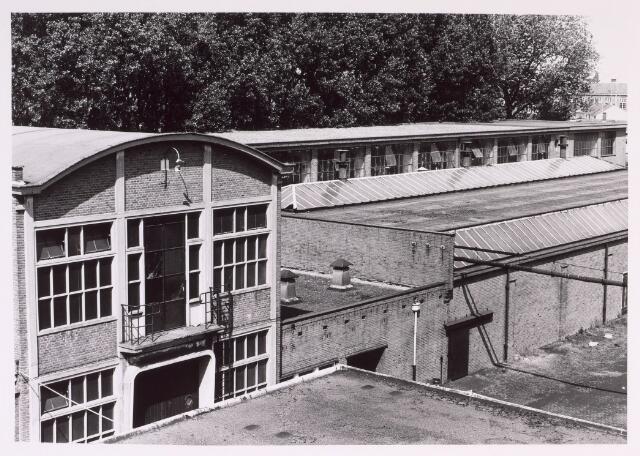 016879 - Gedeelte van het fabriekscomplex van looierij/wolwasserij Bernard Pessers. Wolwasserij en vellenbloterij.
