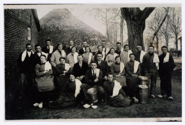 062071 - Landbouw. Melkcursus te Berkel omstreeks 1930 zie eerdere dezelfde foto