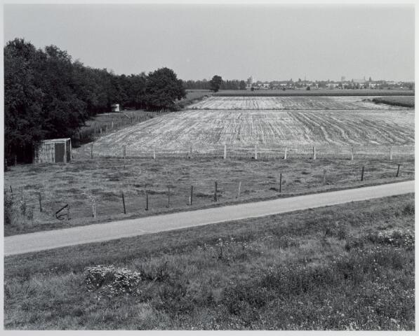 015355 - Landschap. Omgeving van de voormalige spoorlijn Tilburg - Turnhout, in e volksmond ´Bels lijntje´genoemd