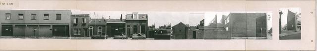 1625_0249 - Fotostrook; straatwand; panden aan de linten en hoofdverbindingswegen in het centrum van de stad;