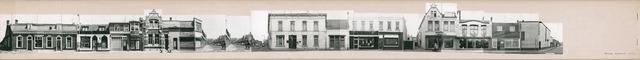 1625_0027 - Fotostrook; straatwand; panden aan de linten en hoofdverbindingswegen in het centrum van de stad; ; foto's werden tussen 1976 en 1985 gemaakt. (foto gemaakt in periode 1976-1985)
