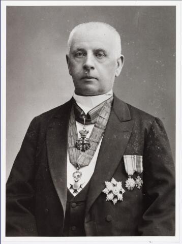 006508 - P.F. Bergmans President van het College van Regenten over de armen (1893-1921) (reproductie; origineel niet in collectie aanwezig)