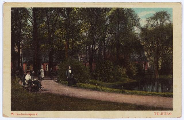 002923 - Wilhelminapark, vijver.