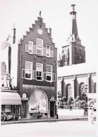 036137 - Stadhuisplein.  Markt hoek Paleisstraat.