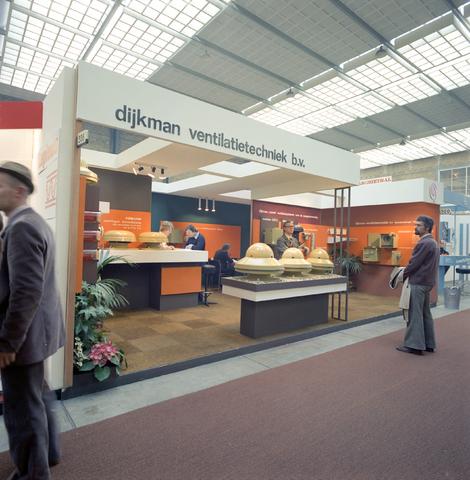 D-000398-2 - Beursstand voor de promotie van producten van Dijkman ventilatietechniek B.V.