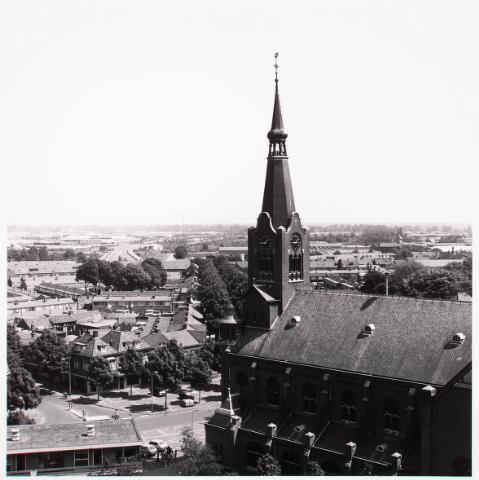 036548 - Panorama van Tilburg vanaf Bejaarden Centrum St. Antonius van Padua