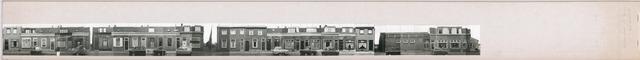 1625_0127 - Fotostrook; straatwand; panden aan de linten en hoofdverbindingswegen in het centrum van de stad; hoek Lancierstraat; foto's werden tussen 1976 en 1985 gemaakt.