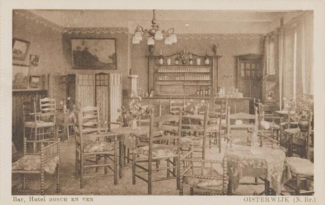"074151 - Hotel ""Bosch en Ven"""". Klompven 26. Interieur: Bar."
