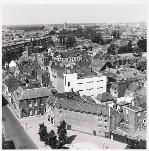 036314 - Panorama van Tilburg, gezien vanaf het nieuwe gemeentehuis