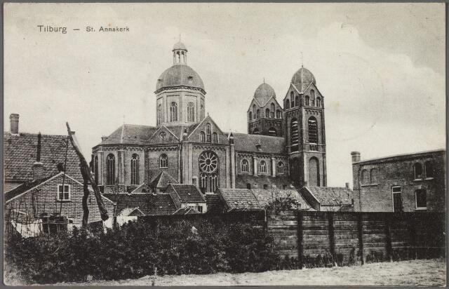 010169 - Achterzijde Capucijnenstraat met St. Annakerk.