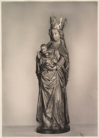 023466 - Mariabeeld dat zich bevindt in de kapel van Onze Lieve Vrouw ter Nood aan de Kapelhof