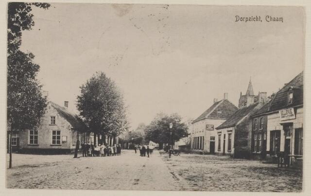 083177 - Dorpsstraat met logement Bellevue