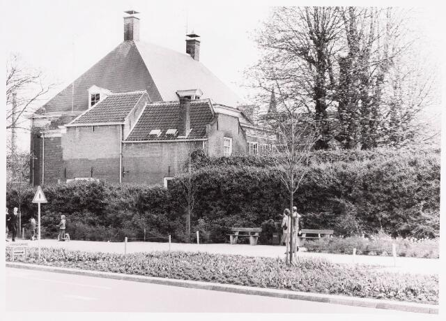 036147 - Stadhuisplein.  zijaanzicht  pastorie parochie Binnenstad