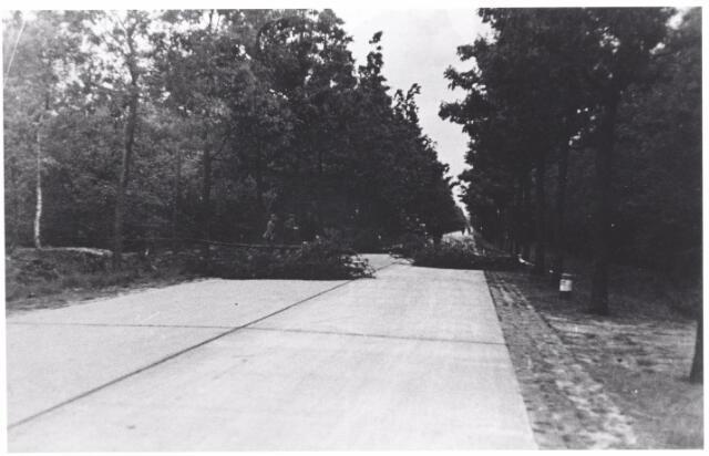045626 - Mobilisatie Wegversperring op de Poppelseweg.