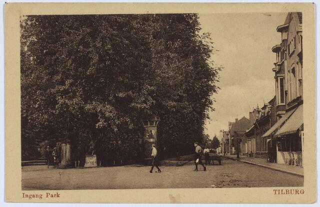 002851 - Wilhelminapark, ingang met herten.
