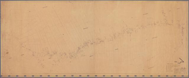 104897 - Kadasterkaart. Kadasterkaart Oosterhout. Kerkdorp Oosteind.