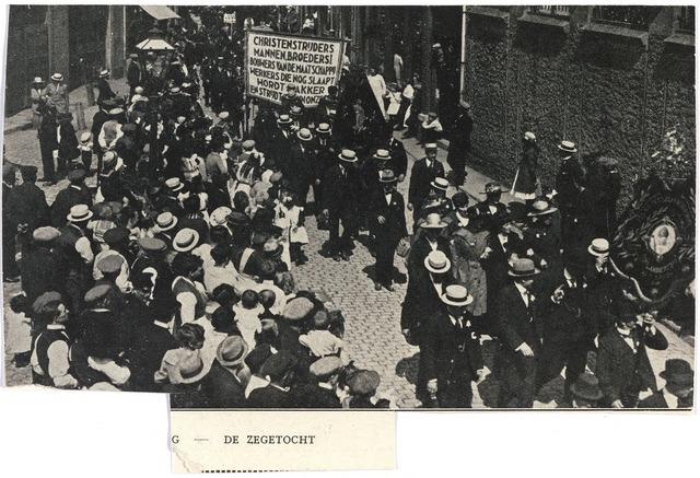 007851 - Katholieke vakbeweging 1921.