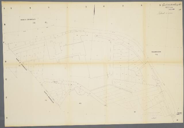 059398 - Kadasterkaart. Kadasterkaart Geertruidenberg sectieA1