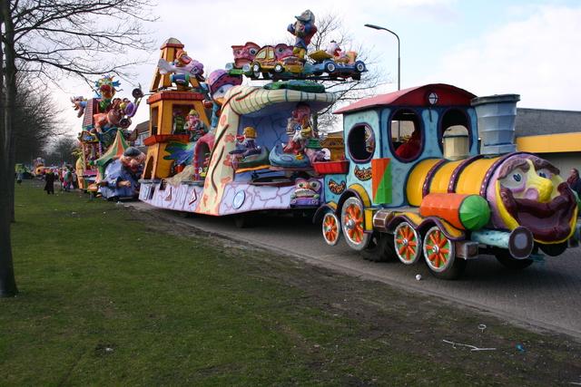 657251 - Carnaval. Optocht. D'n opstoet in Tilburg.