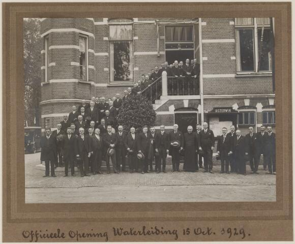 075486 - Oficiele opening Waterleiding te Oisterwijk op 15 october 1929.
