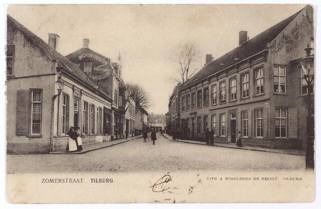 003350 - Zomerstraat, thans Heuvelstraat.