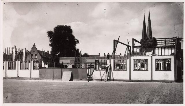 028584 - Afbraak van de koopmansbeurs aan het Piusplein