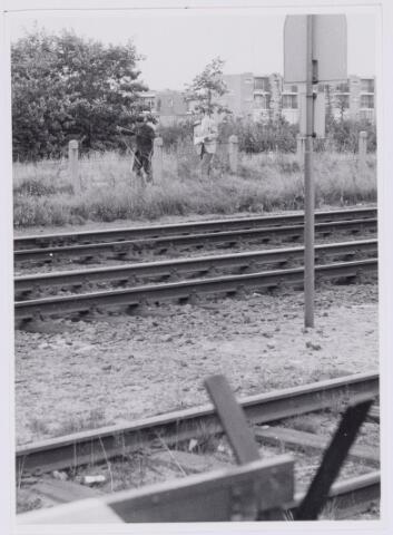 037290 - Spoorwegen:overweg bij Boerke Mutsaers(toekomstig viaduct Statenlaan)