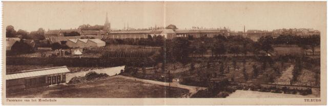 001742 - Oude Dijk, panorama van de tuinen en het moederhuis van de zusters van liefde..