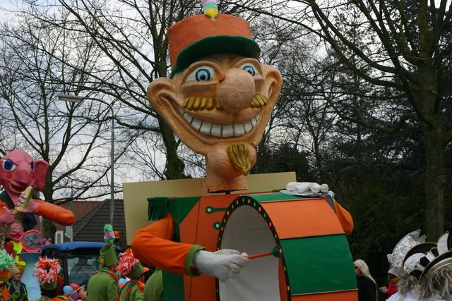 657231 - Carnaval. Optocht. D'n opstoet in Tilburg.