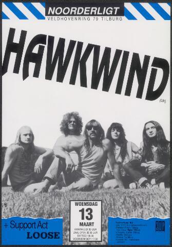 650268 - Noorderligt. Hawkwind. Support act: Loose